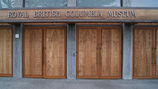 Entrance to the Sequoia Coffee shop from the east side of the museum; open to the public