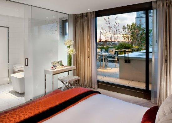 แมนดาริน โอเรียนเต็ล ปารีส: Suite Panoramique