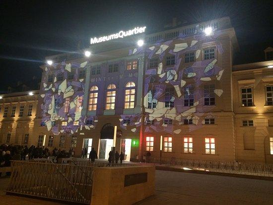 MuseumsQuartier Wien: Vista frontal