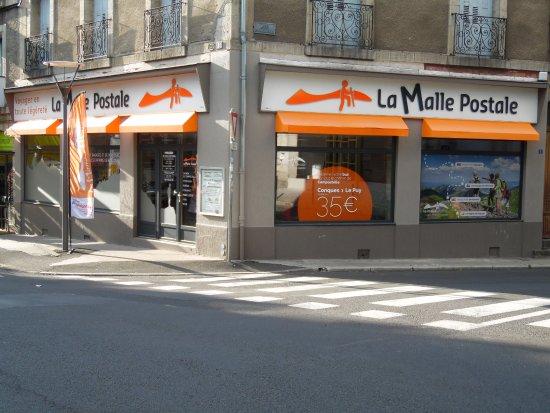 Le Puy-en-Velay, France : Bureaux de La Malle Postale au Puy-en-Velay