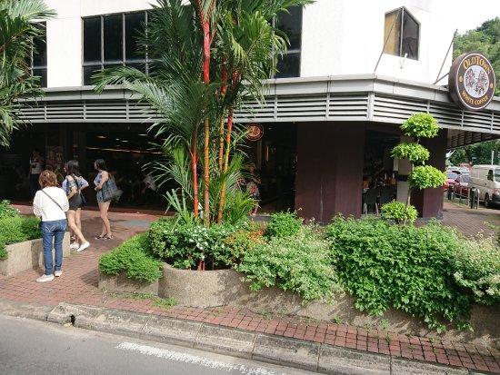 Oldtown White Coffee: View from Gaya Street
