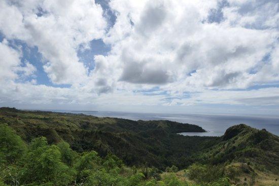 Agat, Mariana Islands : Mount Lamlam에서 보이는 바다 풍경