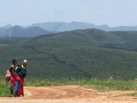 Piggs Peak, Swasiland: View