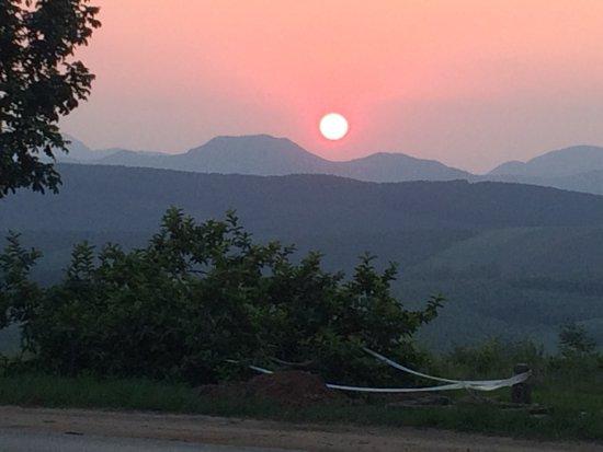 Piggs Peak, Swasiland: Sunset