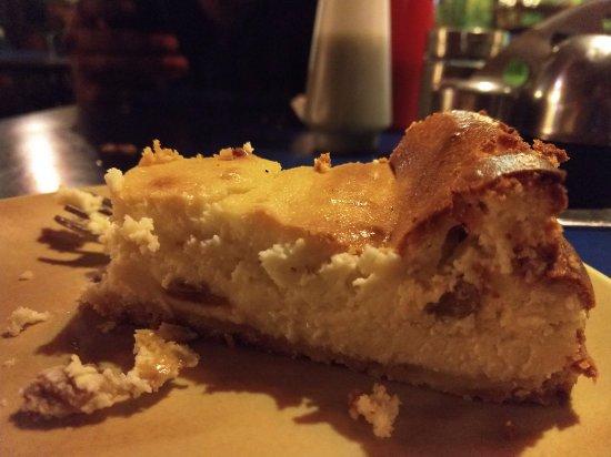 Anjuna, India: Curd cheese cake