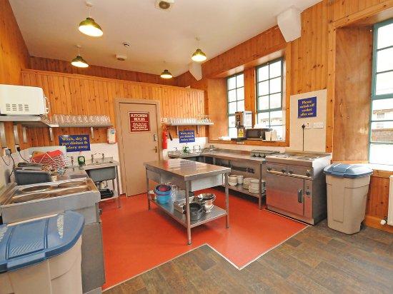 Kinlochleven, UK: Communal Kitchen