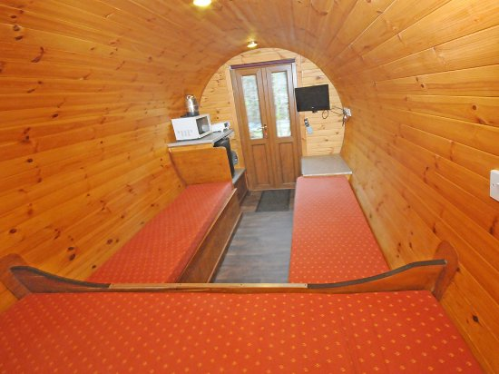 Kinlochleven, UK: Internal of micro lodge