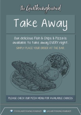 Llwyngwril, UK: Now offering Fish & chips & Pizza takeaways. Call to enquire!