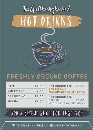Llwyngwril, UK: Now offering a range of hot beverages