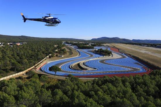 Le Castellet, France : Hélicoptère Circuit <Paul Ricard
