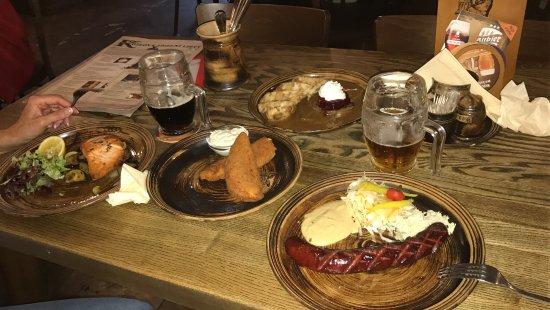 Velke Popovice, Tsjekkia: Блюда