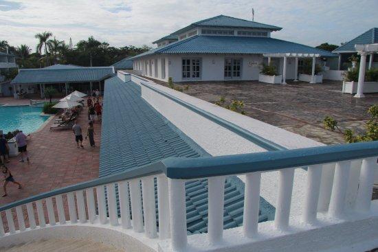 Sunscape Puerto Plata Dominican Republic: Upper Patio With Gohan Asian  Restaurant