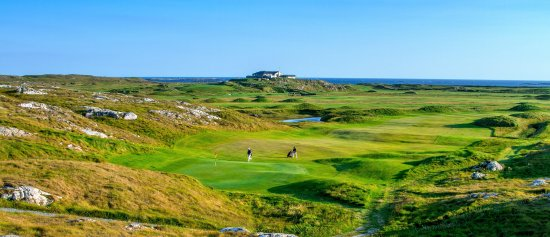 Ballyconneely, Irlandia: Connemara Links Golf