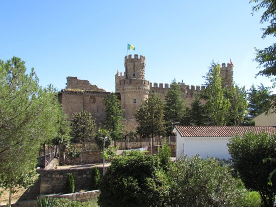 Castillo de los Mendoza (Castillo nuevo de Manzanares El Real): Castillo de Manzanares el Real (Madrid)