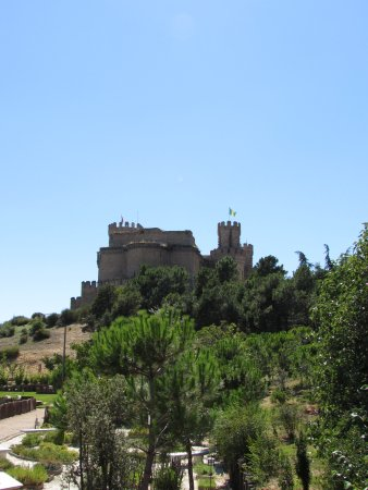 Castillo de los Mendoza (Castillo nuevo de Manzanares El Real): Castillo de Manzanares el Real (Madrid).