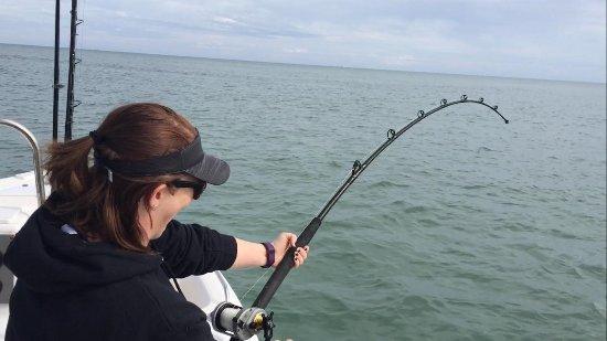 Port Saint Lucie, FL: Hooked on a shark