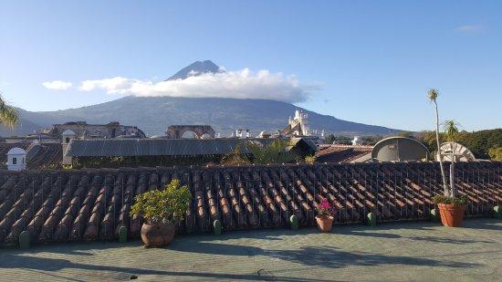 Hotel Posada Del Hermano Pedro: vue de la terrasse