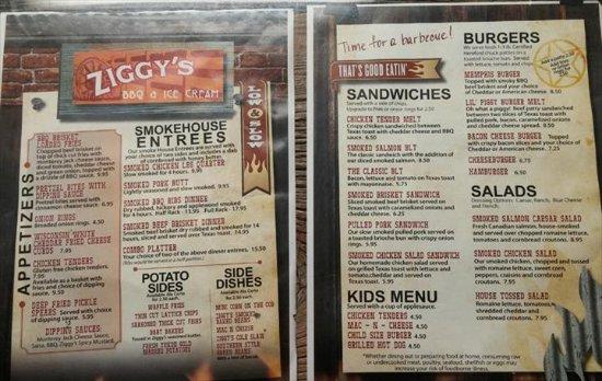 Oregon, WI: Ziggy's BBQ Smokehouse & Ice Cream Parlor