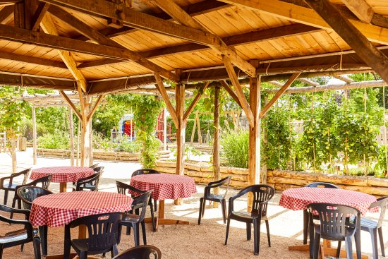 Vendee, Γαλλία: La terrasse du restaurant
