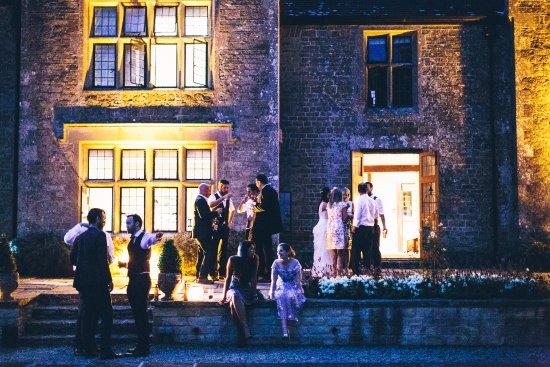 Bourton, UK: Evening Wedding Reception