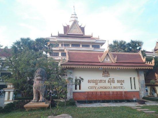City Angkor Hotel: 20180112_065741_large.jpg