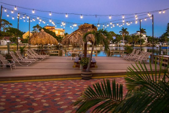Bay Palms Waterfront Resort Hotel And Marina Sundeck Fishing Pier That Accompany The