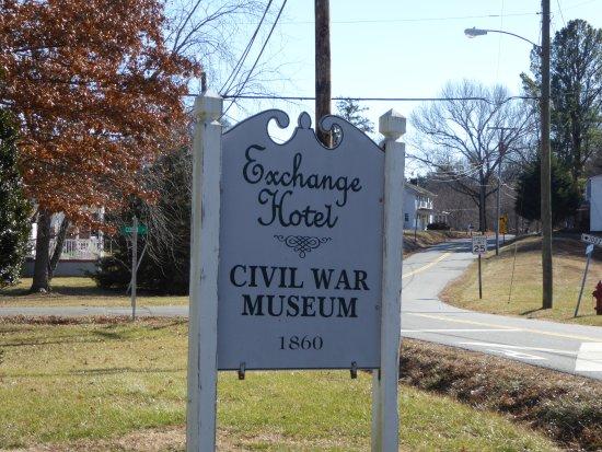 Civil War Medical Museum: Sign