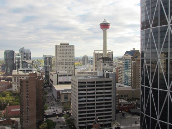 Delta Hotels by Marriott Calgary Downtown: View from our room