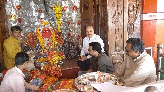 At Lord Hanuman Temple - Picture of Maa Chamunda Mandir