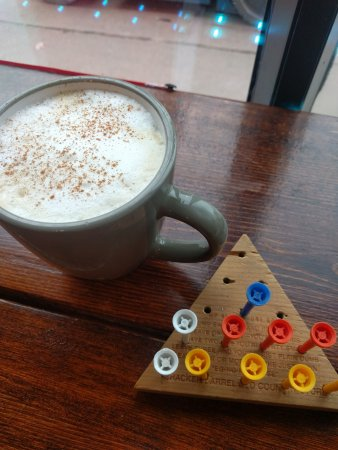 Pembroke, Canada: puzzles and honey latte