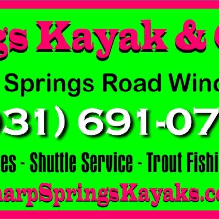 Winchester, TN: Sharp Springs Kayak & Canoe Rentals