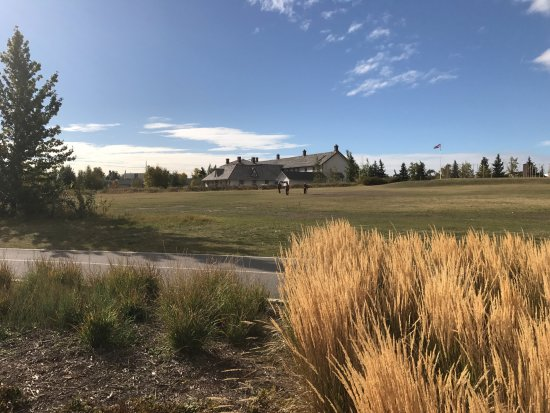 Fort Calgary: View from the Bow river