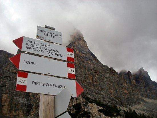 Selva di Cadore, Italy: Quasi arrivati...