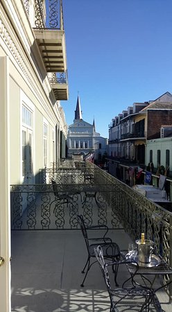 Bourbon Orleans Hotel : View from Loft Balcony room