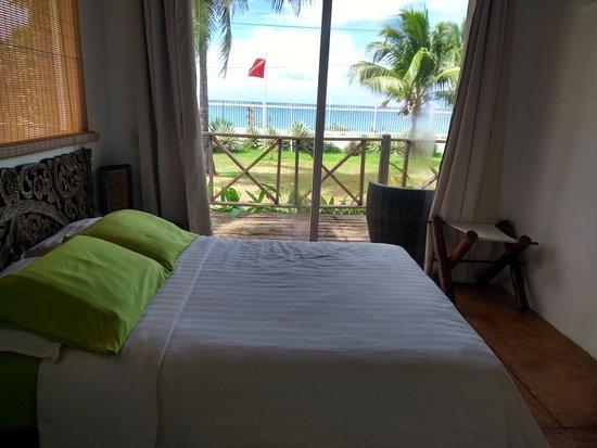 Playa Tranquilo: Vista de Dentro do Quarto