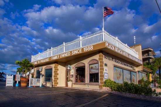 بلازا بيتش هوتل بيتش فرونت ريزورت: Entrance to the front office and check in area. 