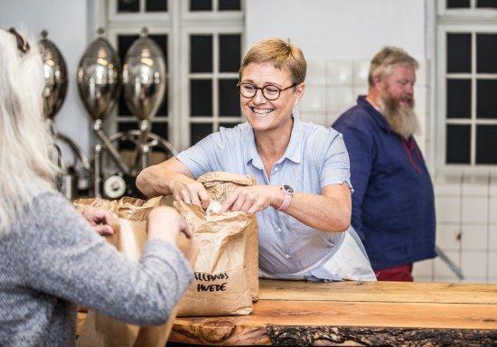 Ranum, Danemark : I købmanden kan du få de vigtigste fornødenheder...