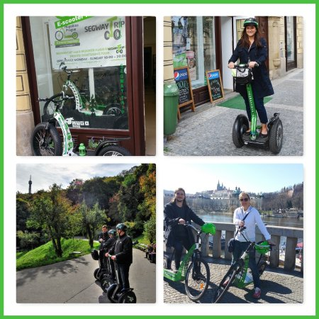 Segway Trip and E-SCOOTER HUGO Bike PRAGUE