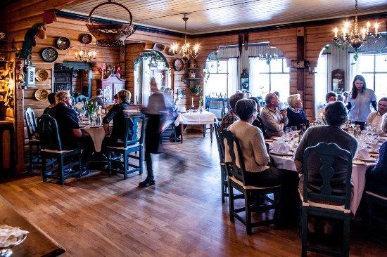 Spisesalen // dining room @ Tuddal Høyfjellshotel