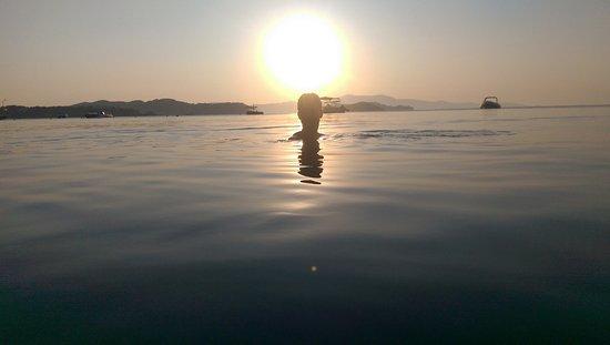 Vasilias, اليونان: Et styke strand hvor man kan være alene.