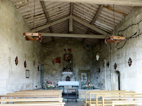 Onano, Italie : chiesetta Madonna delle Grazie - interno