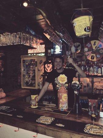 Cisco's Funky Bar & Restaurant: Jason