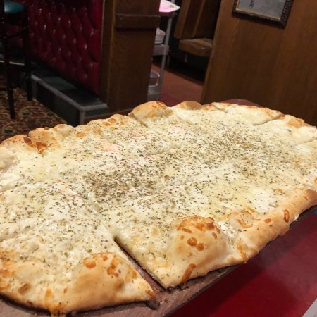 Colonie, NY: White pizza