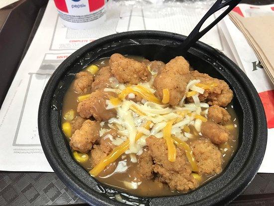 Havelock, Carolina del Norte: Chicken bowl