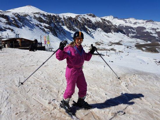 Valle Nevado, Chile: vamos brincar