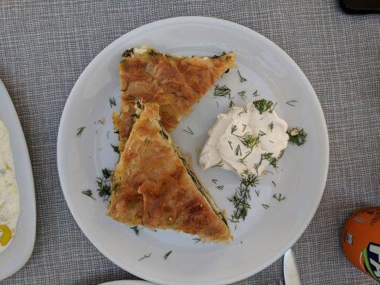 Skala Restaurant: Spanakopita