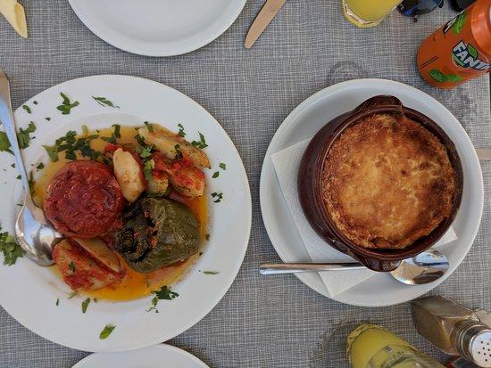 Skala Restaurant: Vegetarian Moussaka