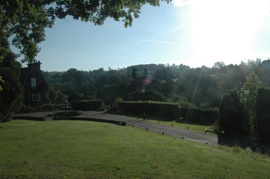 Troutbeck, UK: View from the lawn