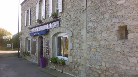 Saint-Evarzec, Francja: façade restaurant