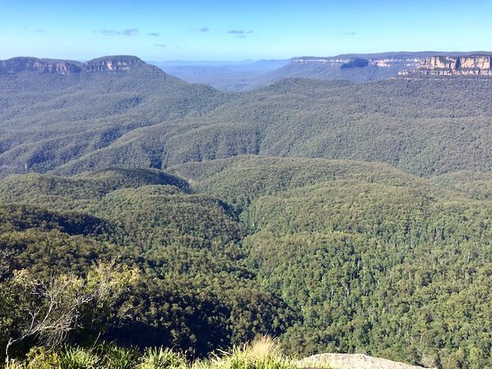 View from Echo Point, a short walk from Lurline House